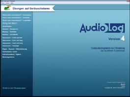 AudioLog 4 PRO -Standardversion